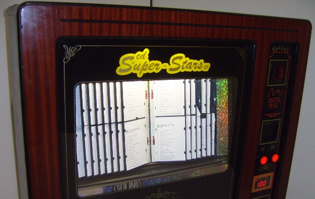 Superstars 60 Cd Wall Jukebox